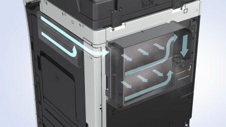Konica Minolta: Kopierer mit Air-Filter für bessere Raumluft!