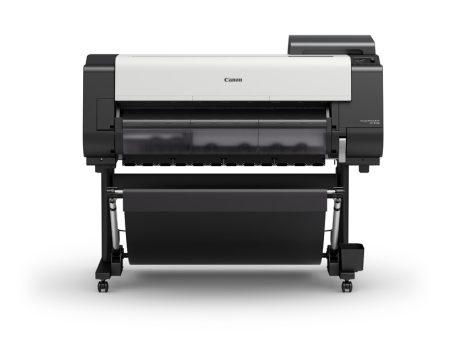 Randlose CAD-Großformatdrucke mit nur einem Knopfdruck