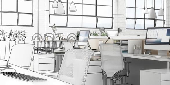 Objektplanung Büroeinrichtung