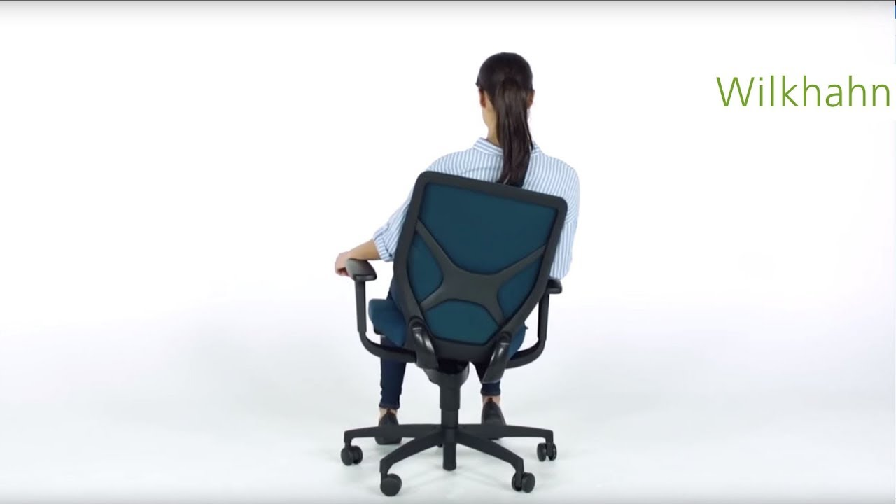 IN 3d task chair -  The correct settings for the highest benefit